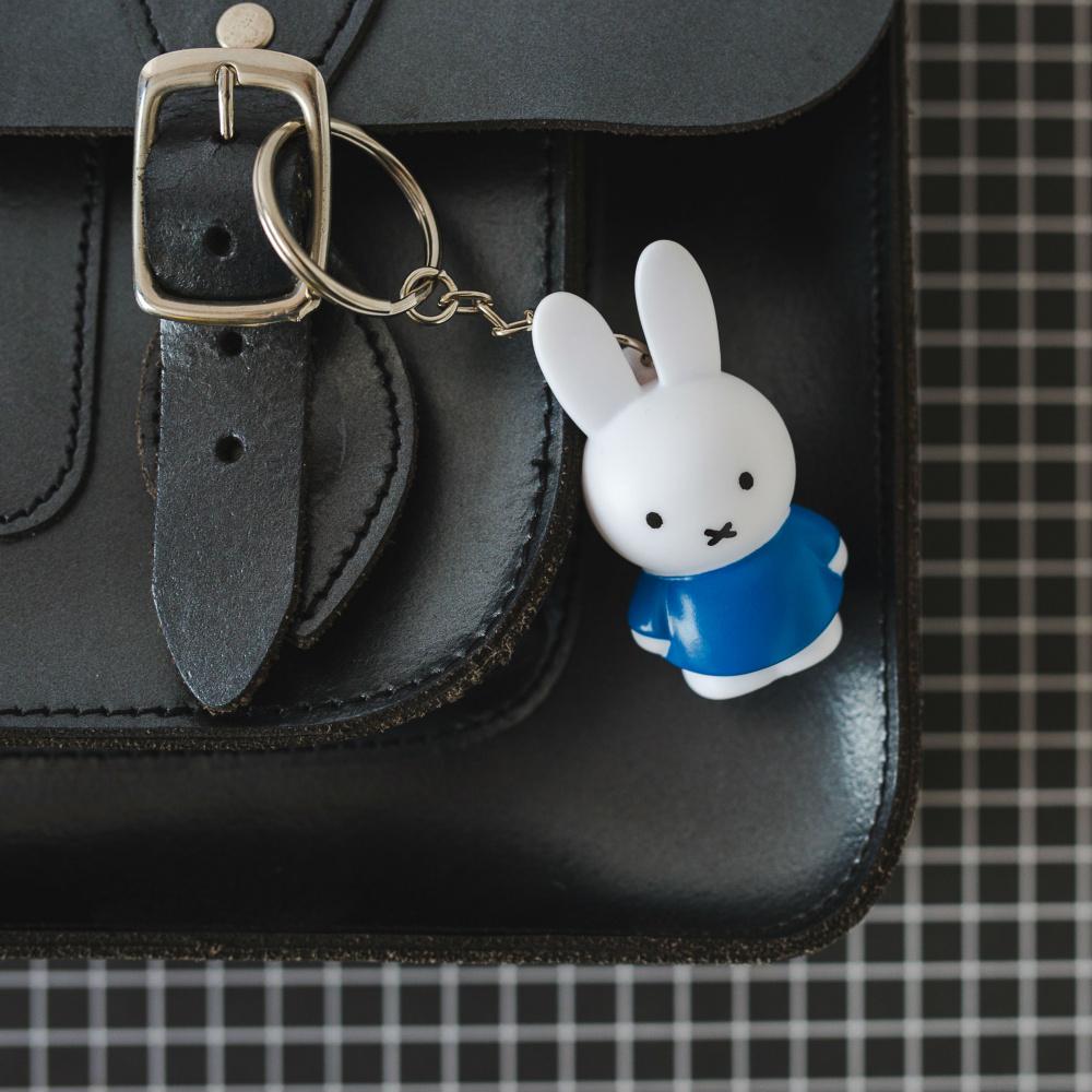 Miffy nøkkelring blå