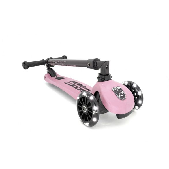 Scoot and ride highwaykick3 rose samenleggbar