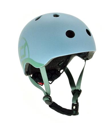Scoot and ride sykkelhjelm blå