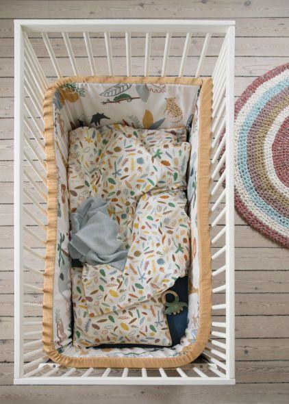 Sebra interiør sengetøy wildlife 2